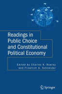 Readings in Public Choice and Constitutional Political Economy Pdf/ePub eBook