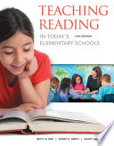Teaching Reading in Today s Elementary Schools Book
