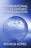 Pdf International Economic Disintegration Telecharger