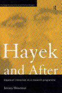 Pdf Hayek and After Telecharger