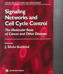 Signaling Networks And Cell Cycle Control Book PDF
