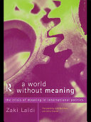 A World Without Meaning