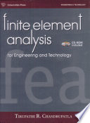 Finite Element Analysis For Engineering & Tech.