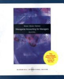 Managerial Accounting For Managers Book PDF