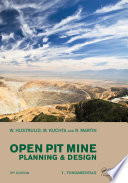 Open Pit Mine Planning And Design Two Volume Set Cd Rom Pack Third Edition