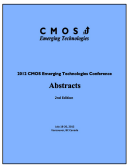 CMOSET 2012  Abstracts