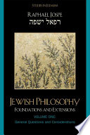 Jewish Philosophy: General questions and considerations