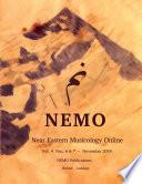 NEMO Near Eastern Musicology Online Vol  4 Nos  6   7