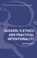 Pdf Husserl's Ethics and Practical Intentionality Telecharger