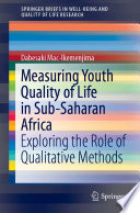 Measuring Youth Quality of Life in Sub Saharan Africa PDF Book