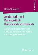 Pdf Arbeitsmarkt- und Rentenpolitik in Deutschland und Frankreich Telecharger