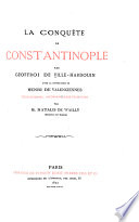 Conquête de Constantinople ...
