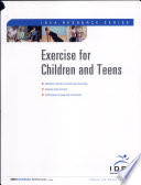 Exercise for Children and Teens