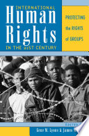 Cover of International Human Rights in the 21st Century