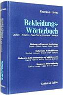 Bekleidungs-Wörterbuch