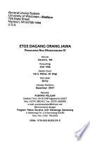 Etos dagang orang Jawa
