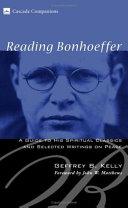 Reading Bonhoeffer Book