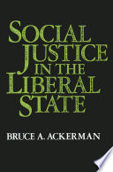 Social Justice in the Liberal State