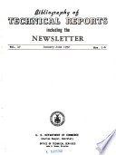 Bibliography of Technical Reports