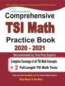 Comprehensive TSI Math Practice Book 2020   2021