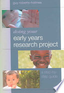 Cover of Doing Your Early Years Research Project
