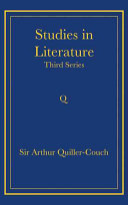 Studies in Literature