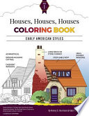Houses, Houses, Houses Coloring Book