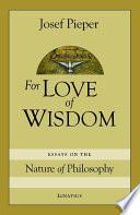 For the Love of Wisdom Book PDF