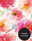 Teacher Record Book Book PDF