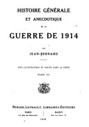 Histoire générale et anecdotique de la guerre de 1914
