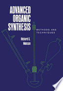 Advanced Organic Synthesis Book PDF