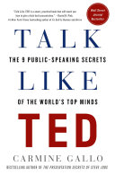 Pdf Talk Like TED Telecharger