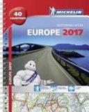 Michelin Europe 2017 Atlas