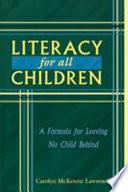 Literacy For All Children