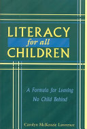 Literacy for All Children
