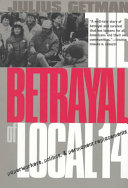 Pdf The Betrayal of Local 14