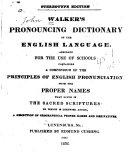 Pronouncing Dictionary of the English Language