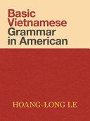 Basic Vietnamese Grammar in American