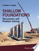 Shallow Foundations Book