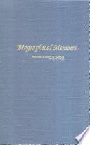 Biographical Memoirs Book