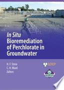 In Situ Bioremediation of Perchlorate in Groundwater Book