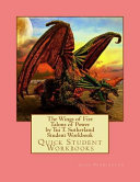 The Wings of Fire Talons of Power by Tui T  Sutherland Student Workbook