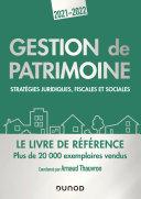 Pdf Gestion de patrimoine - 2021-2022 Telecharger