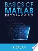 Basics of MATLAB Programming Book
