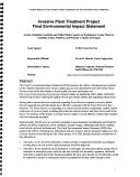 Umatilla National Forest  N F    Invasive Plants Treatment Project