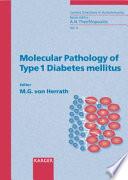 Molecular Pathology Of Type 1 Diabetes Mellitus Book PDF