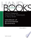 Handbook of Environmental Economics Book