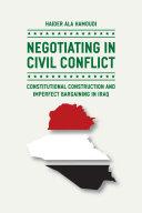 Negotiating in Civil Conflict Pdf/ePub eBook