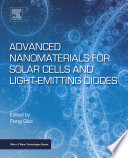 Advanced Nanomaterials for Solar Cells and Light Emitting Diodes Book