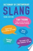 Dictionary of Contemporary Slang Book PDF
